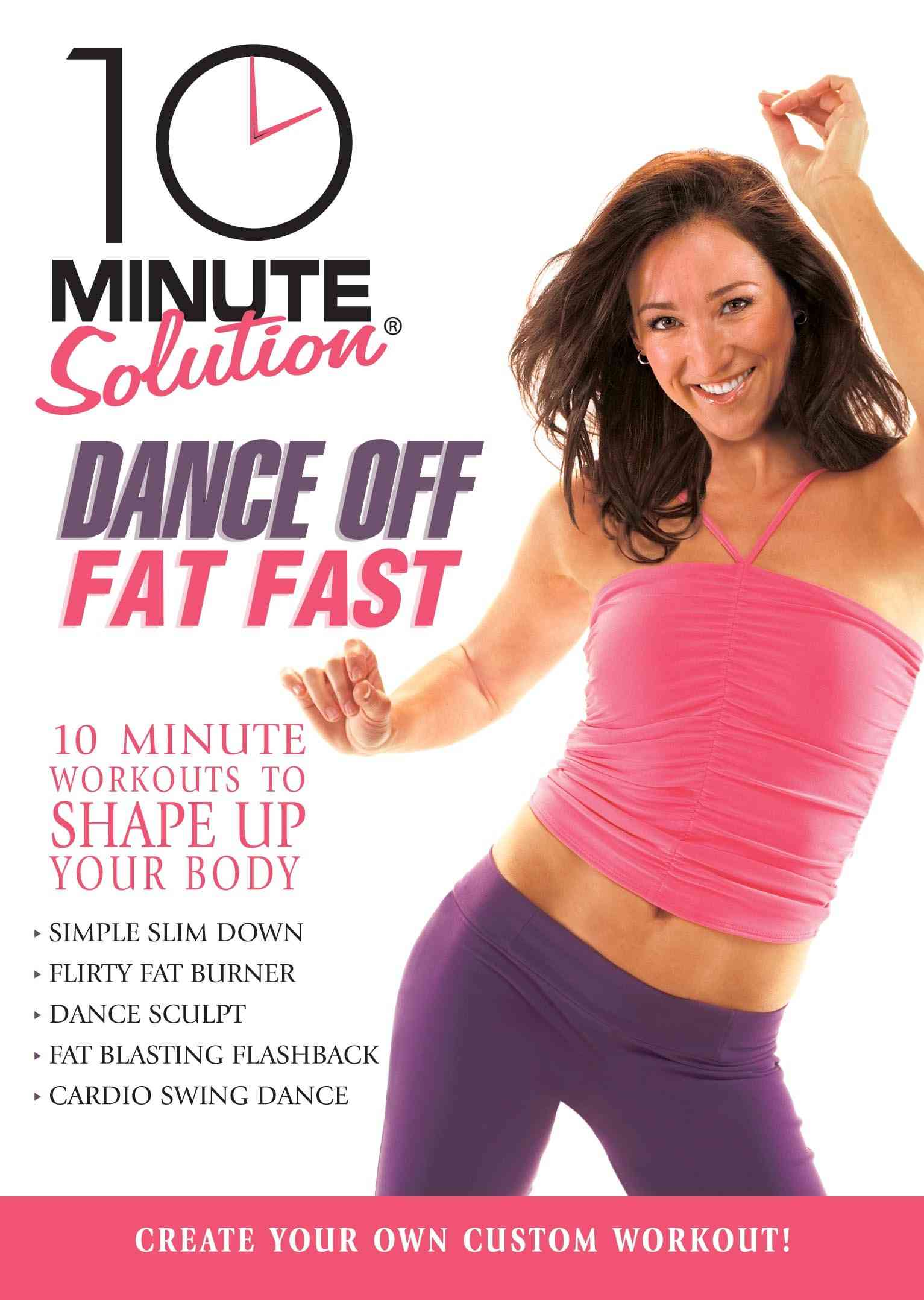 10 MINUTE SOLUTION:DANCE OFF FAT FAST BY 10 MINUTE SOLUTION (DVD)