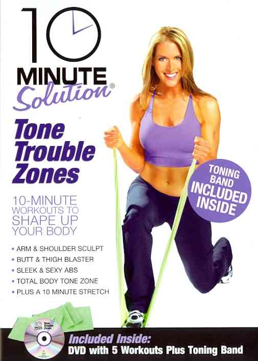 10 MINUTE SOLUTION:TONE TROUBLE ZONES BY 10 MINUTE SOLUTION (DVD)